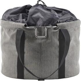 KlickFix Shopper Pro Fiets Organizer Tasje, grey